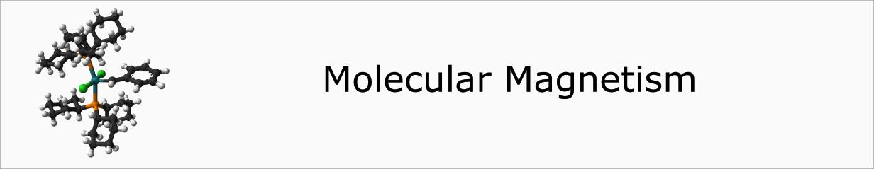 Molecular magnetism